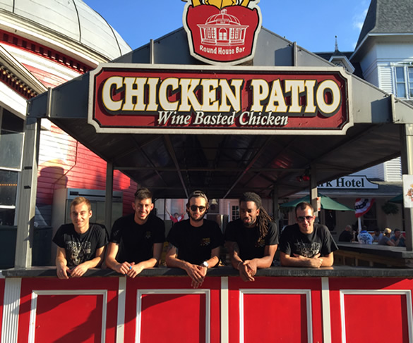 Chicken patio crew